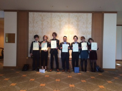 2014全国LUCIDOSTYLE優秀サロン&スタッフ受賞しました!